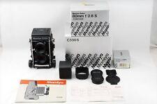 【Unused TOP MINT in Box】Mamiya C330 Pro S w/ Sekor Blue Dot 80mm f/2.8 & Hood