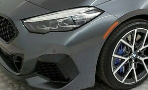 BMW OEM M235 Gloss Black Front Bumper Trim Pair F44 2 Series 2020+ Gran Coupe