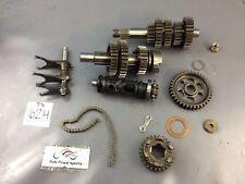Kawasaki VN750 Vulcan 1987 Transmission gears shafts shift forks drum