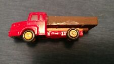 HO Red Ford Flatbed Truck EKO Micro Miniatures FREE SHIPPING