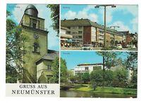 AK, Neumünster, Schleswig Holstein, Kirche, Kuhberg, Teichufer, 1972