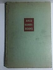 Used Vintage Arco Handi-Books For Better Living The Old Car Book by John Bentley
