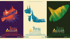 "The Legend of Zelda 25th anniversary Game Poster 24"" x 42"" wall poster l27"