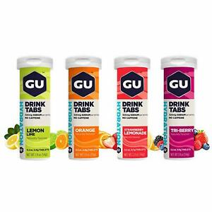 GU Energy Hydration Drink Tablets Single, 4pk and 8pk FREE Shipping - Auth Dist.