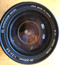 Sigma 28-200mm f/3.5-5.6 DL Hyperzoom Macro Lens for Canon + 72mm,NICE!