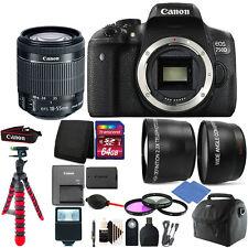 Canon 750D / T6i 24.2MP Digital SLR Camera + 18-55mm IS STM Lens + 64GB Bundle