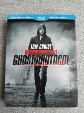 MISSION IMPOSSIBLE GHOST PROTOCOL BLU RAY STEELBOOK - TOM CRUISE