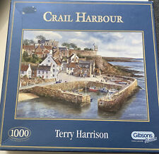 Gibsons Crail Harbour Jigsaw Puzzle (1000 Pieces)