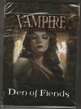 Sealed Unopened Preconstructed Deck Den of Fiends from Black Chantry VTES Jyhad