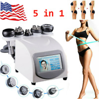 5in1 40K Ultrasonic Cavitation Radio Frequency RF Vacuum Cellulite Slim Machine