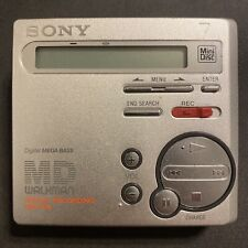 Sony Mz-R70 MiniDisc Recorder Player Md Walkman *As Is, Sometimes Works, Read*