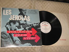 Les Jerolas LP Toujours Plus Vite RCA Victor Serie Gala Love Me Tender in French