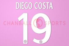 Diego Costa #19 2014-2015 Chelsea UEFA Champions League Homekit Nameset Printing