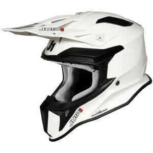 Just1 J18 Helmets Off Road Dirt Bike Fiberglass Antimicrobial Liner ECE XS-2XL