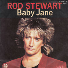 "Rod Stewart ‎7"" Baby Jane - Germany"