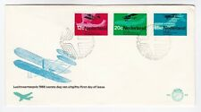 Netherlands FDC 1968 Aviation Airmail stamps aircraft Flight first day cover