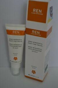 BNIB REN Clean Skincare Wake Wonderful Night-time Facial all skin types 40ml