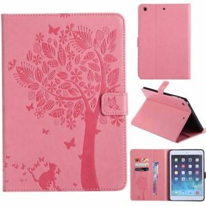 Magnetic Smart Stand Card Flip Leather Case Cover For iPad 5th 6th Mini Air Pro