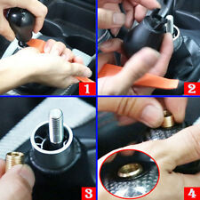 Car Connect Nut Shift Shifter Knob Head Thread Screw Adapter M10/M8 x1.5/1.25mm