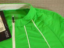 BNWT Womens Gore Bike Wear XL Race Fit  Phantom Summer Lady Jersey Green Leaf