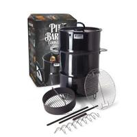 Pit Barrel Cooker 18.5 in. Classic Vertical Smoker Package