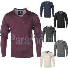 Soul Star Acrylic Thin Knit Jumpers & Cardigans for Men
