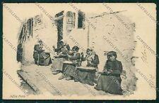 Venezia città Costumi Mestieri Lavorazione Perle cartolina QK2662