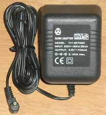 Stecker Netzteil 4,5V DC 700mA Hohlstecker 3,5/1,35mm AC-DC Adaptor T4145700D  1