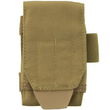 Condor Tech Sheath Plus Utility MOLLE iPhone 6 Pouch Military Webbing Pocket Tan