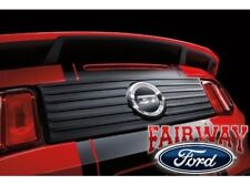 2010 thru 2012 Mustang OEM Ford Rear Decklid Trim Panel with GT V8 Emblem NEW
