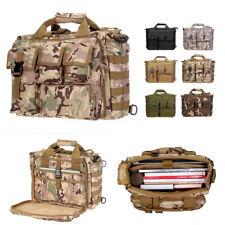 17'' Laptop  Tactical Briefcase Computer Shoulder Handbag Messenger Tote  K