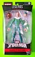 """Marvel Legends Spider-man 6"""" Vulture Action Figure (BAF Demogoblin) - NEW"""