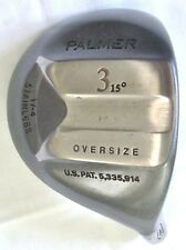 Palmer Oversize 3 Wood Golf Head 15* Stainless 17-4 New Component