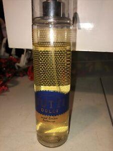 Bath & Body Works Tutti Dolci Sweet Lemon Buttercup  Fragrance Mist 8 oz Used