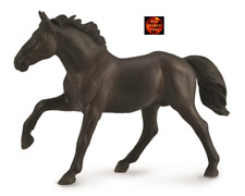 Nonius Stallion Hungarian Black Horse Toy Model Figure by CollectA 88878 New