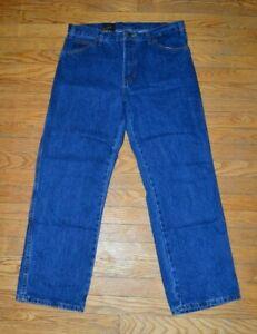 DICKIES Men's Blue Jeans Regular Fit 34 x 30 Blue Denim Jean Durable NEW