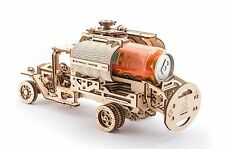 UGears Truck with Tanker mechanical wooden model KIT 3D puzzle Assembly