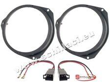 Adattatori altoparlanti Casse 165 mm + connettori  per Fiat Grande Punto / Typ 1