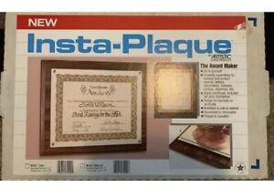 New Insta-Plaque 8.5 x 11 Documents 10.5 x 13
