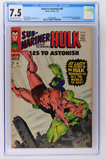 Tales to Astonish #87 - Marvel 1967 CGC 7.5 Boomerang Appearance in new costume.
