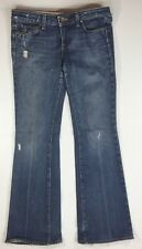 Paige Laurel Canyon  Womens Distressed Jeans Size 29 Low rise