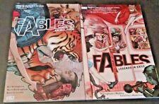 Lot of 2 Fables Comics Animal Farm Legends in Exile Bill Willingham Vertigo