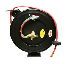 50' Retractable Welding Hose Reel Oxygen Acetylene Mig Wall Truck Mount