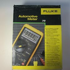 Fluke 78 Series Automotive Multimeter Complete Boxed set in Excellent Condition