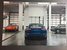 2017 Porsche Panamera 4S Sedan Showroom Advertising Sales Poster RARE!! Awesome