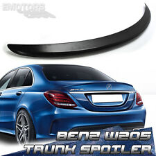 PAINTED MERCEDES BENZ W205 4DR C250 C350 TRUNK SPOILER A TYPE 2018 ABS C300