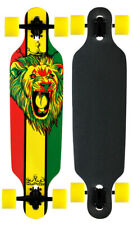 Professional Longboard Drop Through Skateboard KROWN RASTA FREESTYLE Maple
