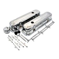 Chrome Valve Cover Dress Up Kit Pontiac V8 301 326 350 455 Firebird GTO Trans Am