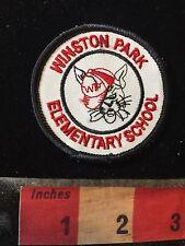 Vtg Coconut Creek Florida School Patch WINSTON PARK ELEMENTARY C77K