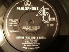 CILLA BLACK . ANYONE WHO HAD A HEART . / JUST FOR YOU . Classic 1960's hit